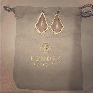Light Pink Kendra Scott Earrings